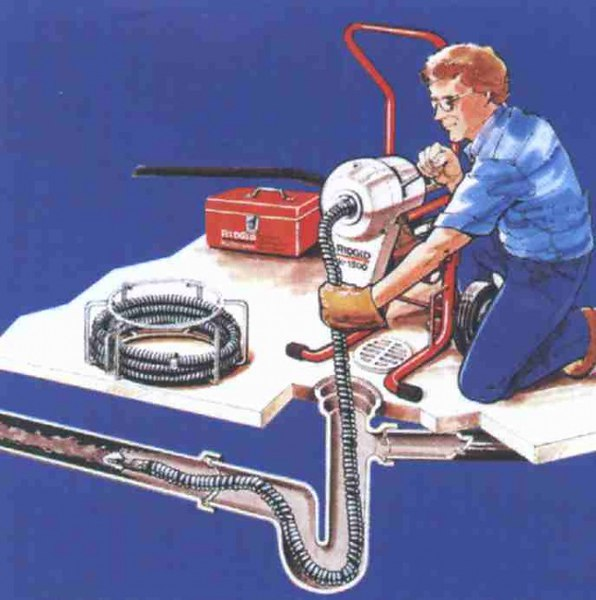 Изображение прочистки электромеханикой