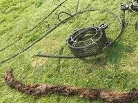 Катушка спиралей для электромеханической прочистки